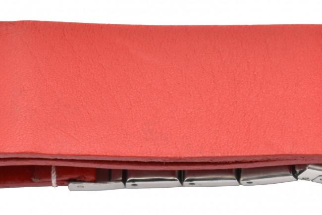 Bracelet Natoquick cuir Rouge