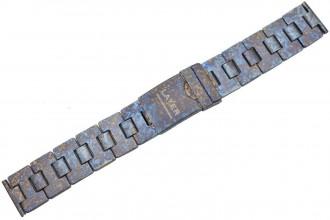 Bracelet titane anodisé crazy traitement 20mm