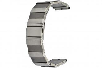 Bracelet Titane et acier 22 mm