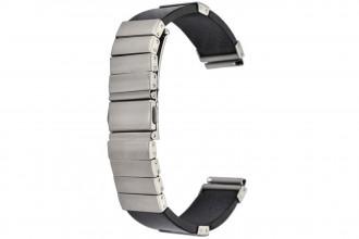 Bracelet Fibre de Carbone et Acier 22 mm