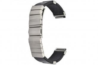 Bracelet Fibre de Carbone et Acier 18 mm