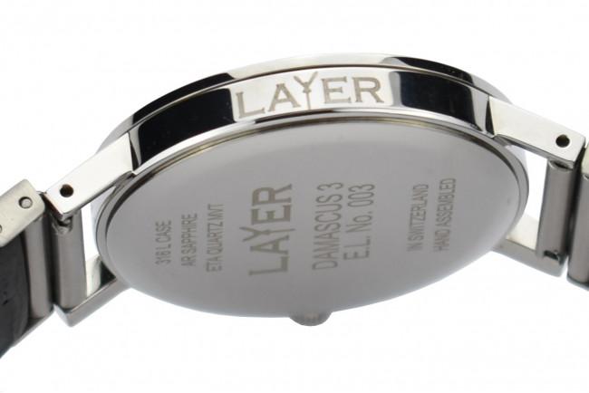 Layer Montre Quartz E.L. N° 003