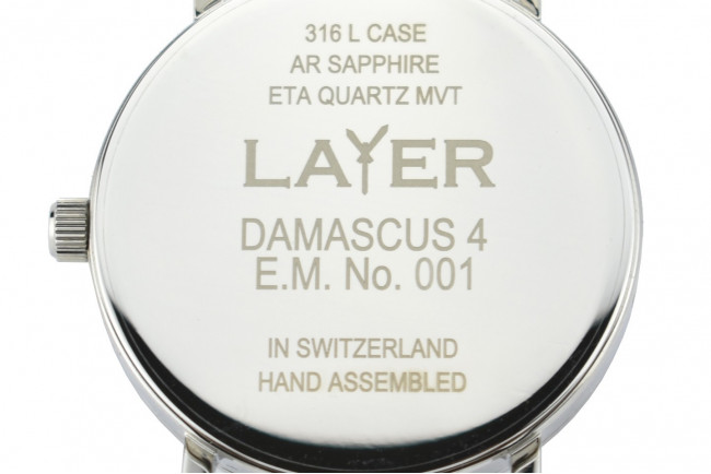Layer Montre Quartz E.M. N° 001