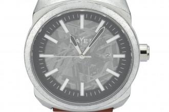 Montre Layer Prototype n°014 - Aluminium Météorite
