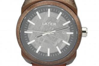 Montre Layer Prototype n°018 - Aluminium Météorite